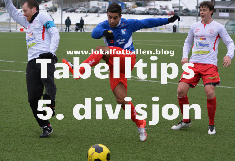 Tabelltips for 5. divisjon på Romerike