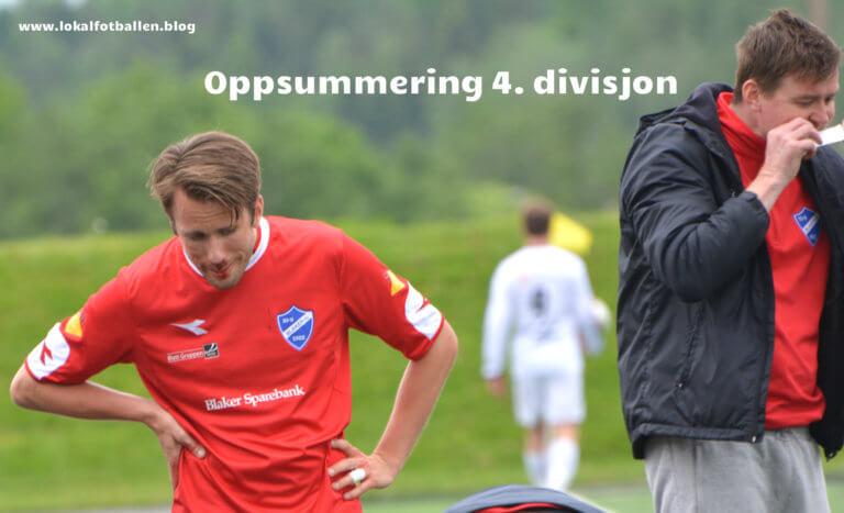 Oppsummering av 4. divisjon: 8. plass til 14. plass.