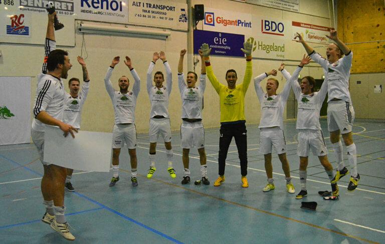 Favoritten Aurskog-Høland vant AFSK Innecup igjen