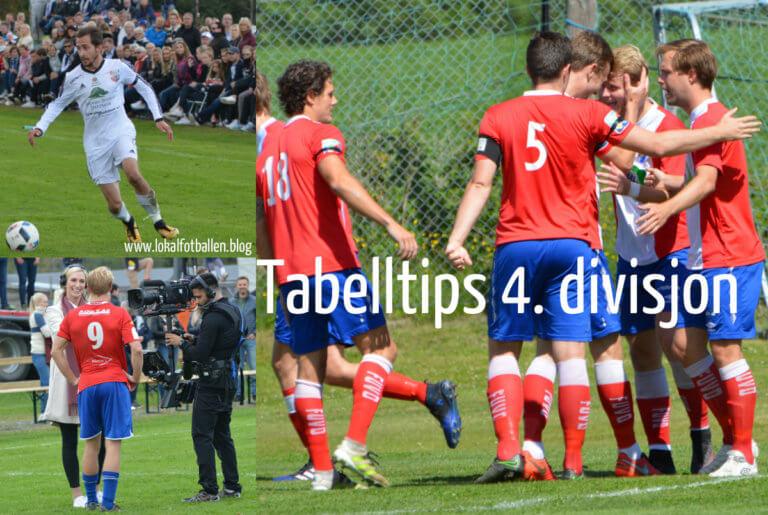 Tabelltips for 4. divisjon på Romerike