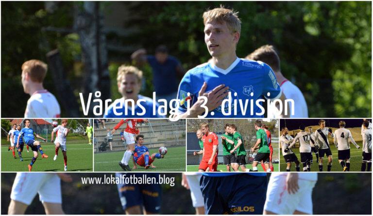 Vårens lag i 3 divisjon avdeling 2