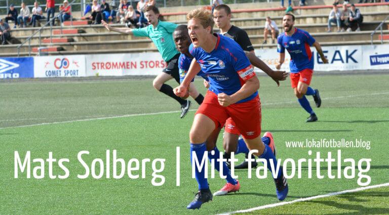 Mitt favorittlag: Mats Solberg – Best på banen og Ramona i Mo i Rana