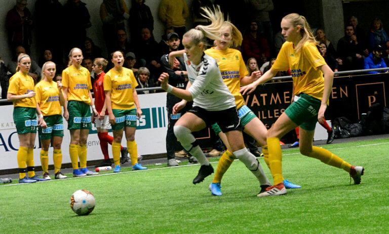 Tre lag fra Romerike i kvinnenes 2. divisjon