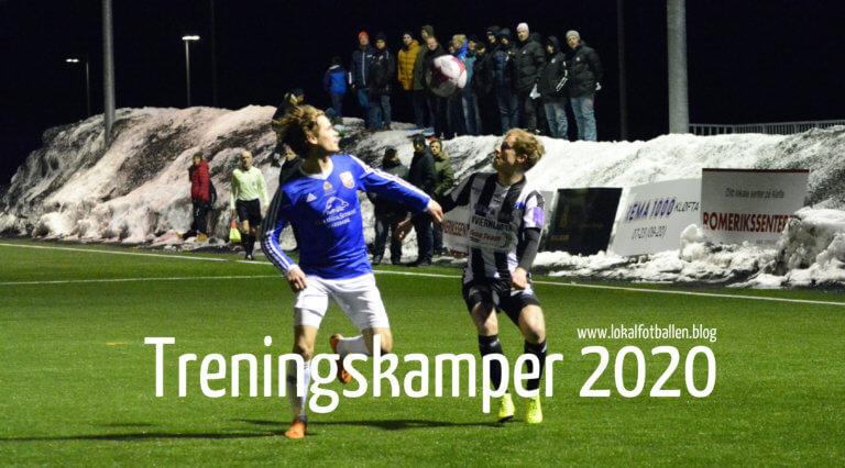 Treningskamper for lokalfotballen på Romerike i 2020
