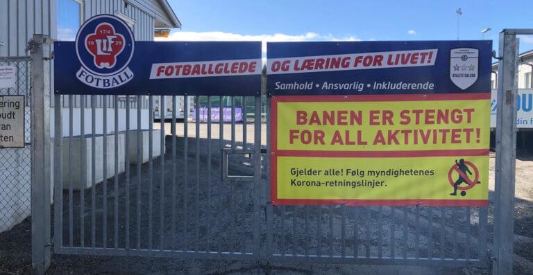 Lokale fotballklubber taper nesten en million kroner